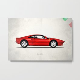 The 288 GTO 1985 Metal Print