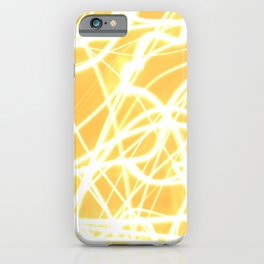 Light Painting of the Moon iPhone Case