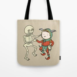 Danse Macabre- The Fool Tote Bag