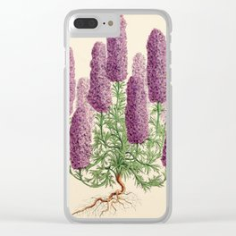 Smith, Worthington G. (1835-1917) - The Floral Magazine 1869 - Larkspur Clear iPhone Case
