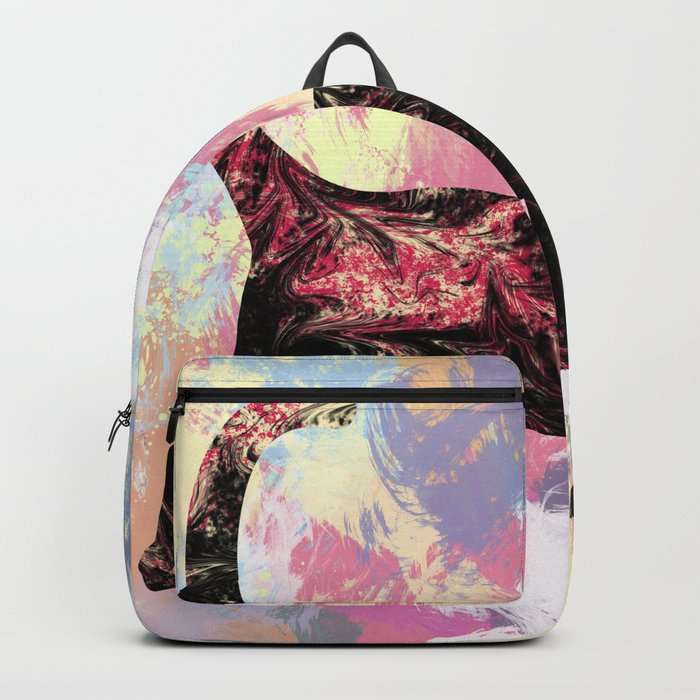 Abstract Cat Backpack