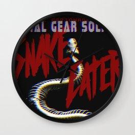 Snake Eater Wall Clock