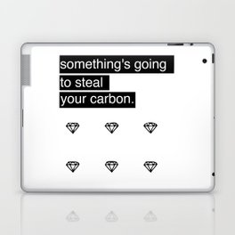 Something's going to steal your carbon. Laptop & iPad Skin