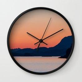 A Crescendo of Rock Wall Clock