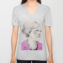 Mary Berry Unisex V-Neck