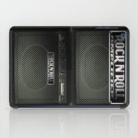 rock and roll iPad Cases featuring Rock N´Roll amplifier by Nicklas Gustafsson