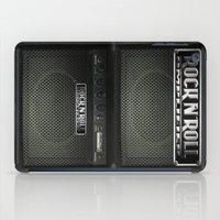 rock n roll iPad Cases featuring Rock N´Roll amplifier by Nicklas Gustafsson