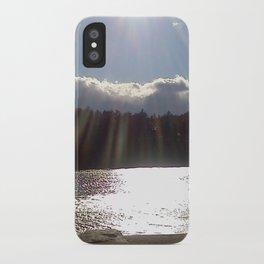Blue Hill iPhone Case