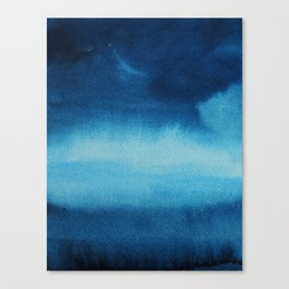 Indigo Ocean Dreams Canvas Print