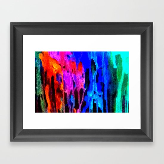 Memoryscape : Colors Series 4 Framed Art Print