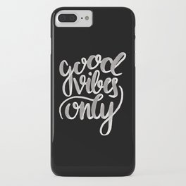 GOOD VIBES [REVERSED] iPhone Case