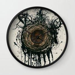 Bird Nest Wall Clock