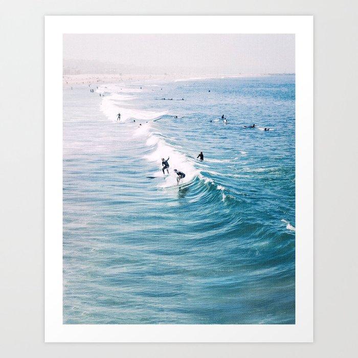 Catch A Wave Kunstdrucke