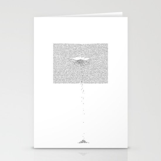 Erosion & Typography 1 Stationery Cards
