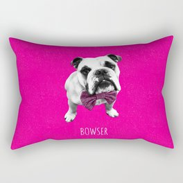 Pink Bowser Rectangular Pillow