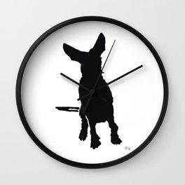 Lajka 3 Podenco Wall Clock