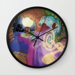 Le monde de lea Wall Clock