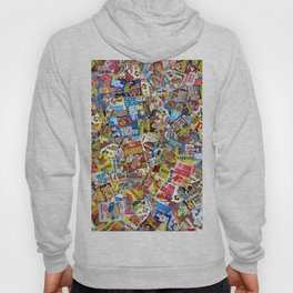 Cereal Boxes Collage Hoody