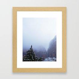 Lost Dream mountain Framed Art Print