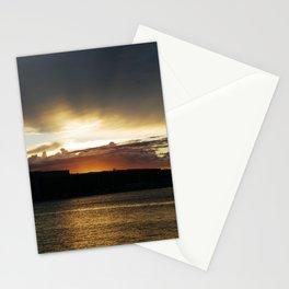 Sunset in Pula (Croatia) Stationery Cards