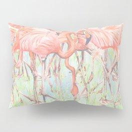 Flamingo Meadow Pillow Sham
