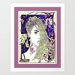Having Sweet Thoughts Of You Art Print