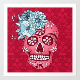 Cotton Sugar Art Print