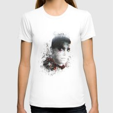 Mad Max Furiosa White SMALL Womens Fitted Tee