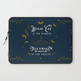 HIGH FAE IN THE STREETS Laptop Sleeve