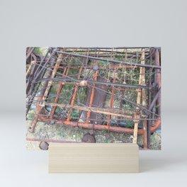 Ghost town rubble Mini Art Print