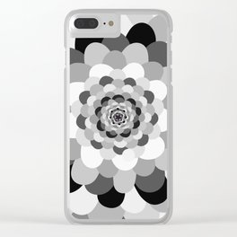 Bloom pattern Clear iPhone Case