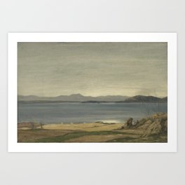 Loch Nell, 1930-1935, by Sir David Cameron Art Print