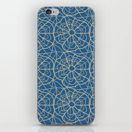 pearly spiderweb iPhone Skin