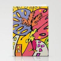 brasil Stationery Cards featuring Brasil by Ana Sanz Durán