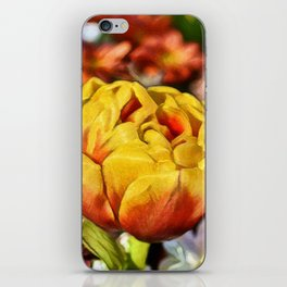 Golden Tulip Dream | Painting iPhone Skin