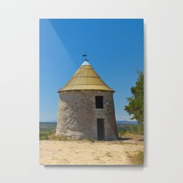 old mill in france Metal Print