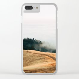 Fog Rolls in For a Lucky Photographer - 35mm Film Clear iPhone Case