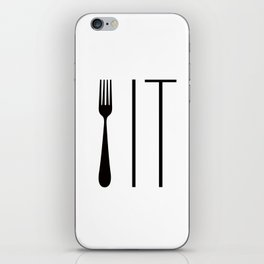 Fork It iPhone Skin