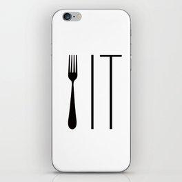 Fork It iPhone Skin