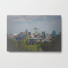 Cincinnati from Covington, Kentucky Metal Print