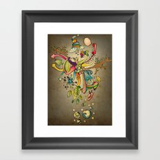 Another Strange World Framed Art Print