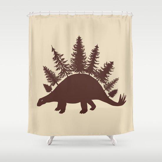 Stegoforest  Shower Curtain