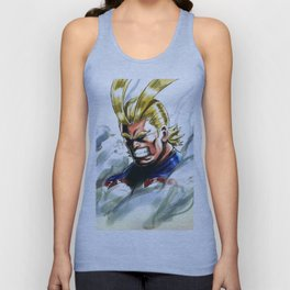 All Might Unisex Tank Top