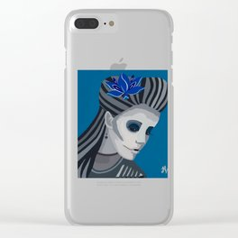 frankies living dead girl Clear iPhone Case