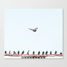 Bombs Away Canvas Print