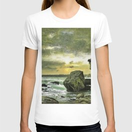 George Inness - A Marine - Digital Remastered Edition T-shirt