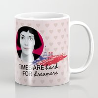 amelie Mugs featuring Dreamer Amelie  by MissAtomicBomb