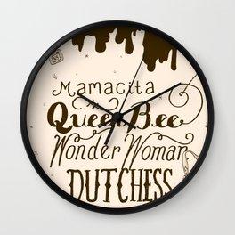 Mrs Always Right Wall Clock
