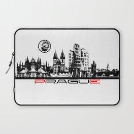 Prague black and white Laptop Sleeve