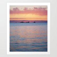 Ibiza Sky Art Print